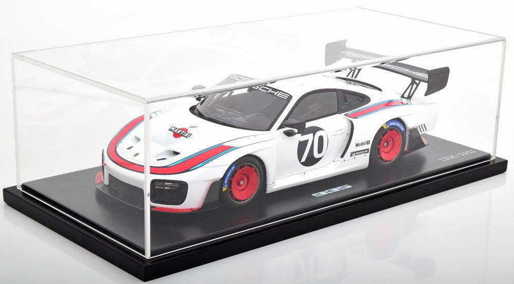 Spark Porsche 935 Martini Coche Deportivo Reunion Laguna Seca Seca Seca 2018 Dealer Le de  calidad de primera clase