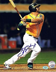Stephen Vogt 8x10 Baseball Ball Photo Signed Autographed Oakland Athletics A's