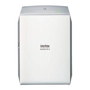 Fujifilm Instax SHARE Smartphone Fuji Instax Printer SP-2 Silver