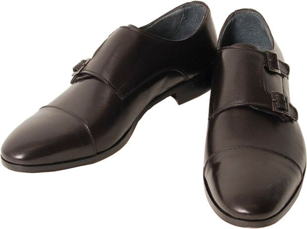 Acc Hand Made, Italian shoes Buckles Monkstrap 9509