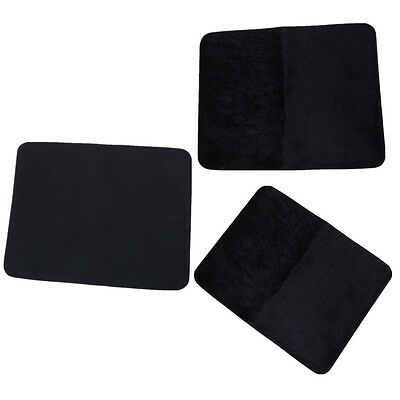 Tapis de pont de carte professionnelle noire Close Up Magic Tricks Pad Toy、FR