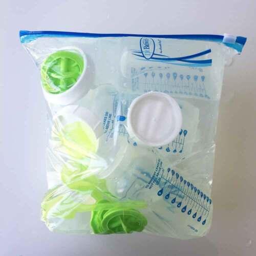 7 Jours D/'approvisionnement Eau froide Stérilisateur Sacs /& comprimés Vacances Voyage Compact Kit