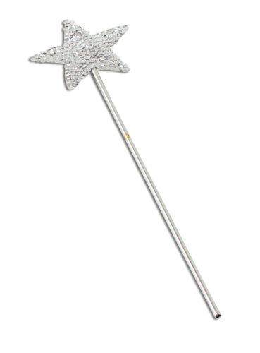 Sequin Star Magic Wand Fairy Godmother Angel Fairy Fancy Dress Accessory
