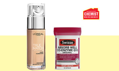 Up to 50% off Selected Cosmetics and Vitamins