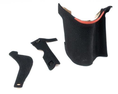 Rubber Body 3 Piece Set Cover Shell Grip Unit For Nikon D750 3M Tape /& Glue