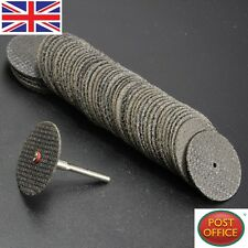 New 100Pcs 32mm Fiberglass Reinforced Cut Off Wheel Discs For Dremel Rotary Tool