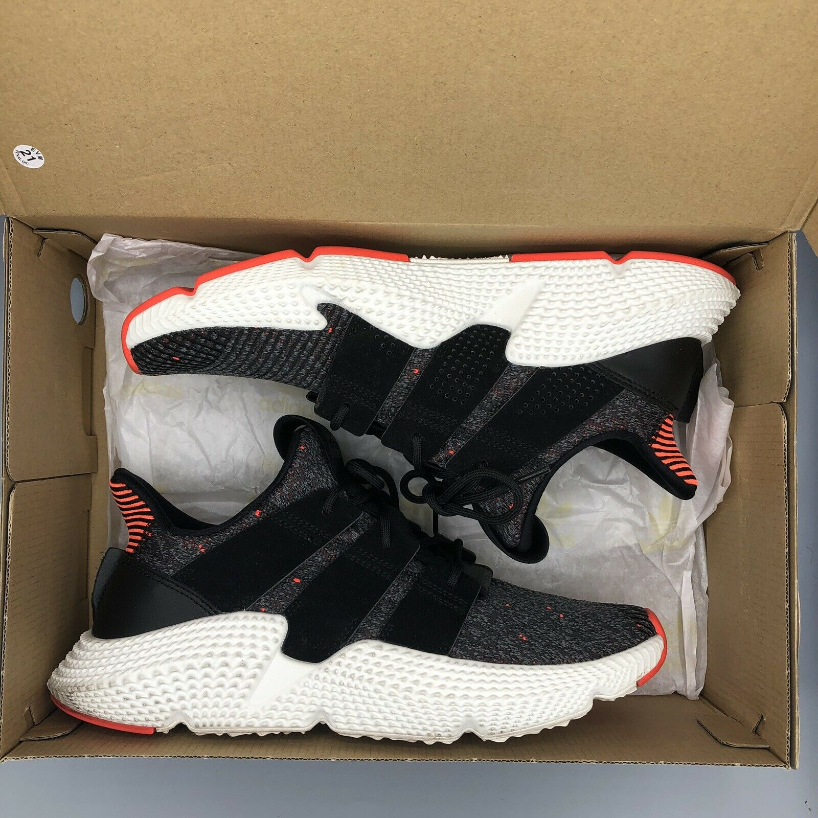 Adidas Originals Prophere Solar Red Core Black Infrared Size 9.5 CQ3022 Yeezy