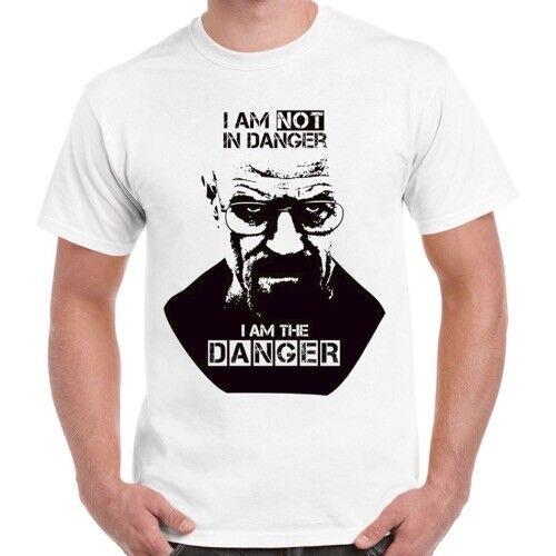 Danger Breaking Bad I Am Not in danger je suis le danger RÉTRO COOL T SHIRT 473