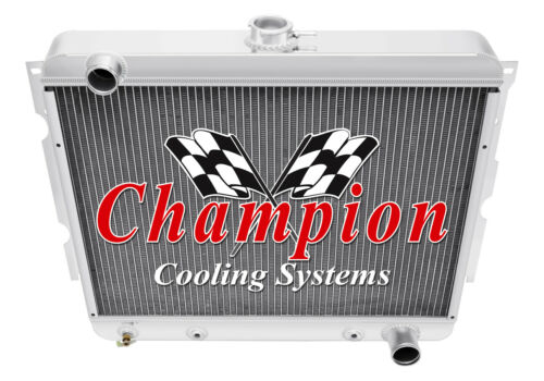 Small Block 1971 1972 1973 Plymouth Satellite Champion 2 Row DR Radiator
