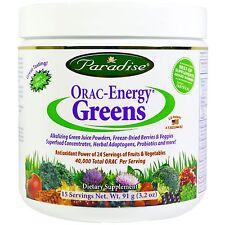 ORAC-ENERGY VERDI - 91g da Paradise Herbs-antiossidante integratore frutta e verdure