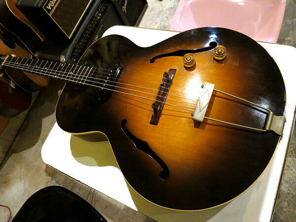 Gibson 1952 ES-125 Vintage JAPAN beautiful rare EMS F S