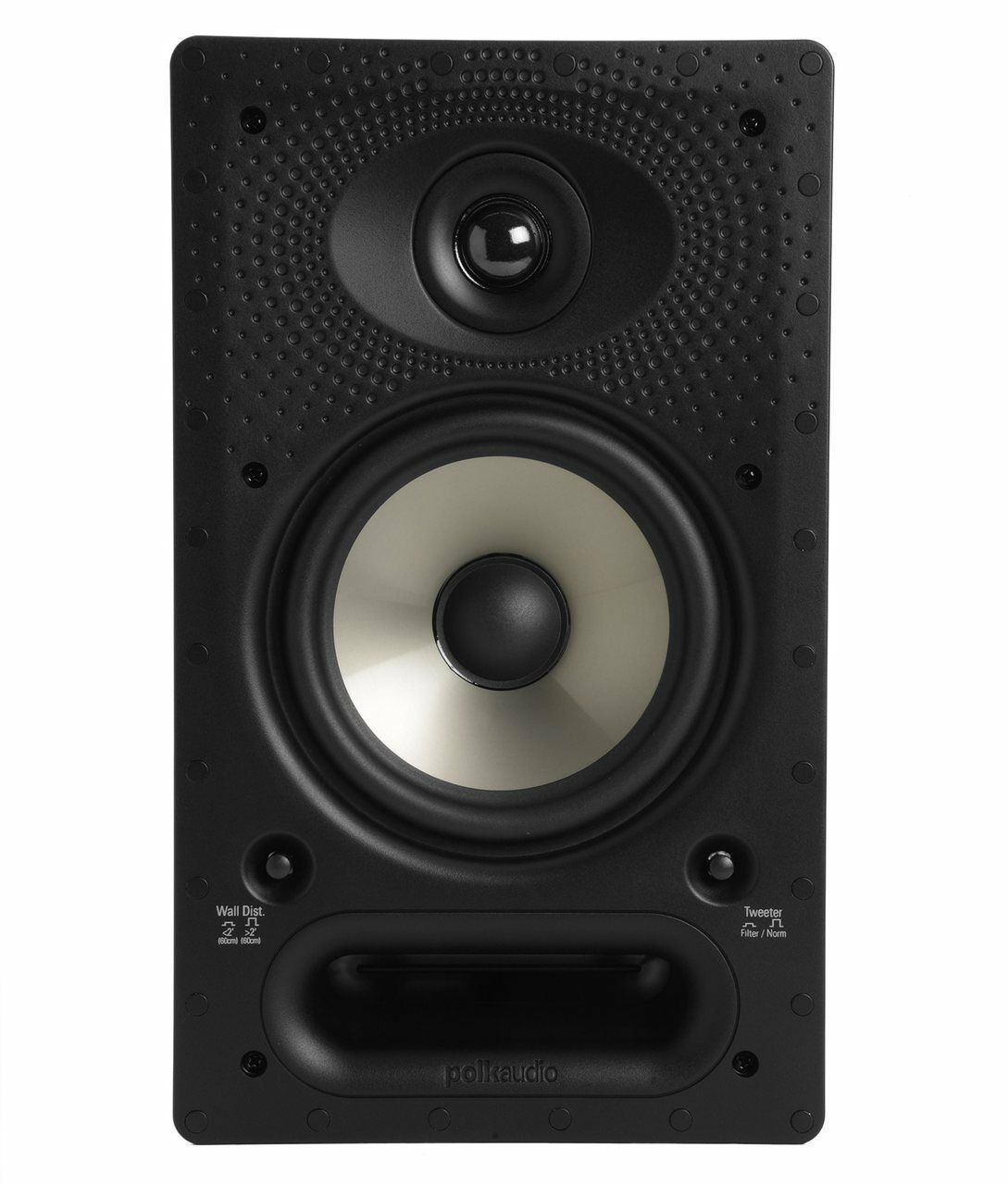 Polk Audio 65-RT Vanishing Series 2-Way In-Wall 125W Speaker x 1