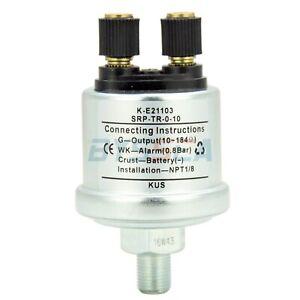KUS-Oil-Pressure-Sensor-Boat-Car-Mechanical-Oil-Sending-Unit-Alarm-NPT-0-10-Bar