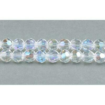 Pcs Art Hobby Czech Crystal Glass Faceted Rondelle Beads 8 x 10mm Black//Gold 70