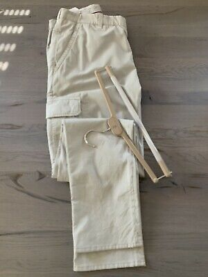 Brunello Cucinelli Cargo Travel Hose Military Army Casual Pants Trousers Jeans