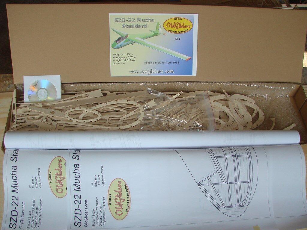 Oldgliders szd-22 Alphonse kit 1 4, 3m, kit New    New