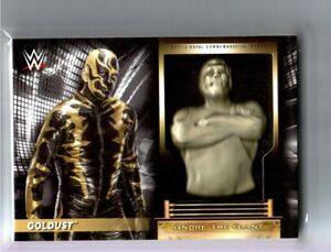 WWE-Goldust-2018-Topps-RTWM-Andre-The-Giant-Battle-Royal-Relic-Card-SN-139-199