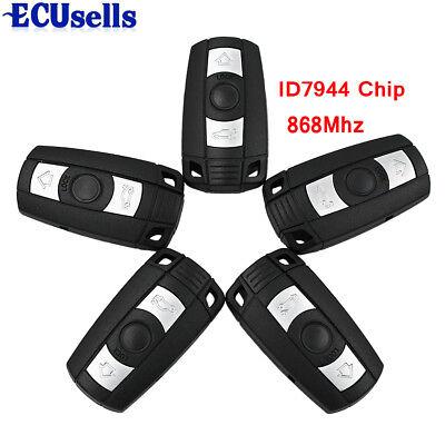 Blank 315MHz w//Chip fit for BMW 3 5 Series X1 X6 Z4 Smart Remote Key Key Shell