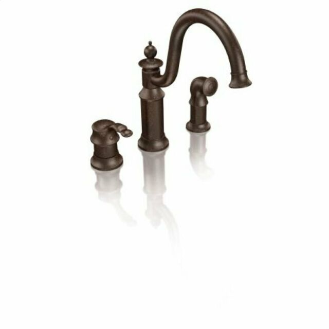 Moen S711orb Oil Rubbed Bronze One Handle High Arc Kitchen Faucet