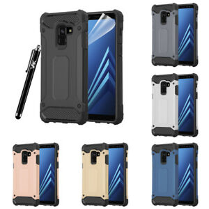 check out 6b85b d2b8e Details about For Samsung Galaxy A8 Case, Impact Heavy Duty Tough Dual  Layer Shockproof Cover