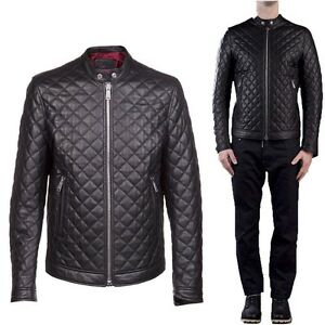 In-PELLE-100-o-Di-Pelle-PU-Giubbotto-Giacca-Uomo-Men-Leather-Jacket-md-Tra1