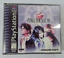 Final Fantasy VIII 8 Black Label Play Station PS 1 game CIB  Ships FREE Complete