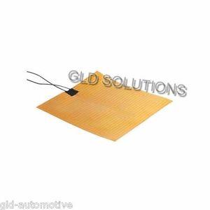 Foglio Riscaldato 12 Vdc in KAPTON 30x30 Cm per STAMPANTE 3DRAG 3D