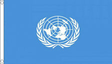 3' x 2' UN FLAG United Nations International World Peace Keepers Military