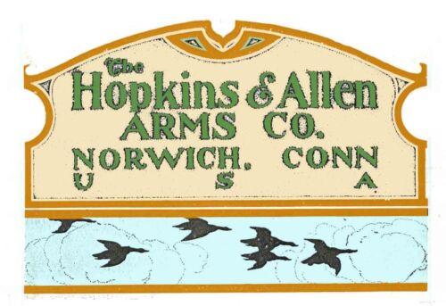 Hopkins /& Allen 1909 Gun Catalog