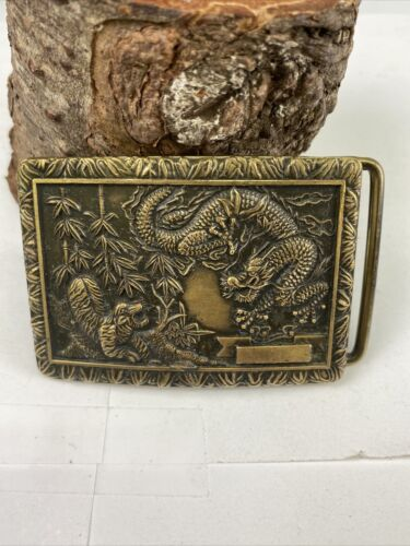 CHILDS CHINESE DRAGONS Bracelet-Small Vintage Sterling 925 Silver-Kissing Guardians Foo Fu Lions Dogs Elephant Bangle-Baby Boy Girl-China