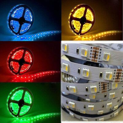 5M 10M 12V 24V LED RGBW RGBCW RGB+Kaltweiß Stripe Streifen 5050SMD Dimmbar Kette