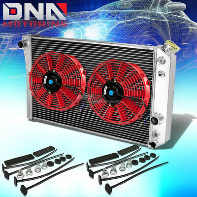 FOR 91-96 CHEVY CORVETTE 5.7 V8 MT 3-ROW ALUMINUM RACING SPEC UPGRADE RADIATOR