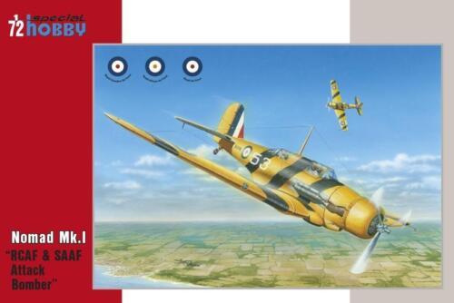 "SPECIAL HOBBY 72292 Nomand Mk.I /""RCAF /& SAAF Attack Bomber in 1:72"
