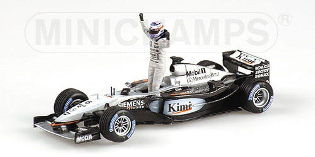 MINICHAMPS 004301 034326 074371 McLAREN model F1car F1car F1car Hakkinen Raikonen Alonso1 43 bc7189