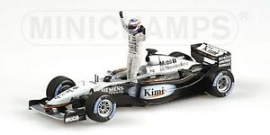 MINICHAMPS-004301-034326-074371-McLAREN-model-F1car-Hakkinen-Raikonen-Alonso1-43