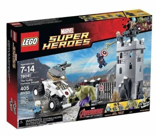 76041 THE HYDRA FORTRESS SMASH lego legos set NEW marvel super heroes HULK