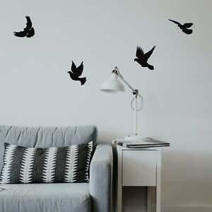 Birds Flock Wall Art Metal Decor