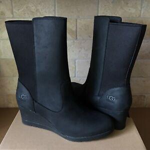 UGG Coraline Waterproof Black Leather