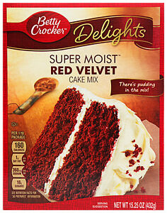 Betty Crocker Super Moist Red Velvet Cake Mix | eBay