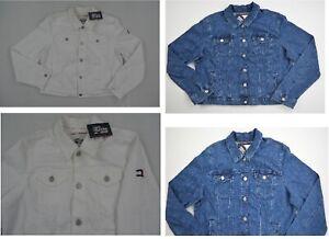 NWT-Women-039-s-Tommy-Hilfiger-Long-Sleeve-Jeans-Denim-Jacket