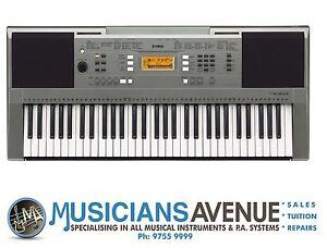 yamaha psr e363 keyboard brand new 3 year warranty. Black Bedroom Furniture Sets. Home Design Ideas