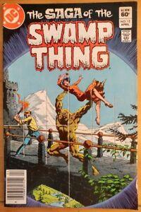 The-SAGA-of-the-SWAMP-THING-12-1983-DC-Comics-FN-Book