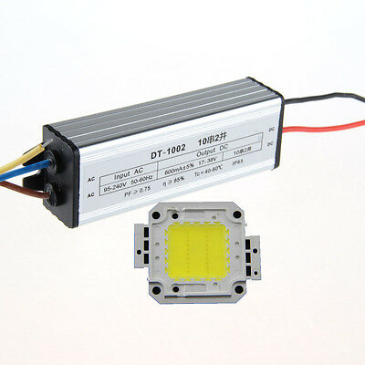 Sale 20W White High Power LED Lamp Panel & 20W High Power LED Driver AC95-240V