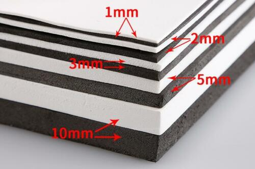 1~10mm EVA Foam Sheets 35x50 35x100cm Kids Cosplay Sponge Paper Model DIY Craft