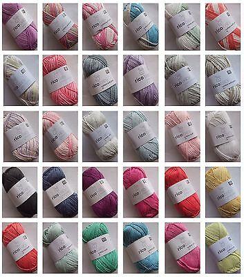 (5,60€/100g) Rico baby cotton soft dk 50 g Wolle - Babywolle -Baumwolle / Acryl