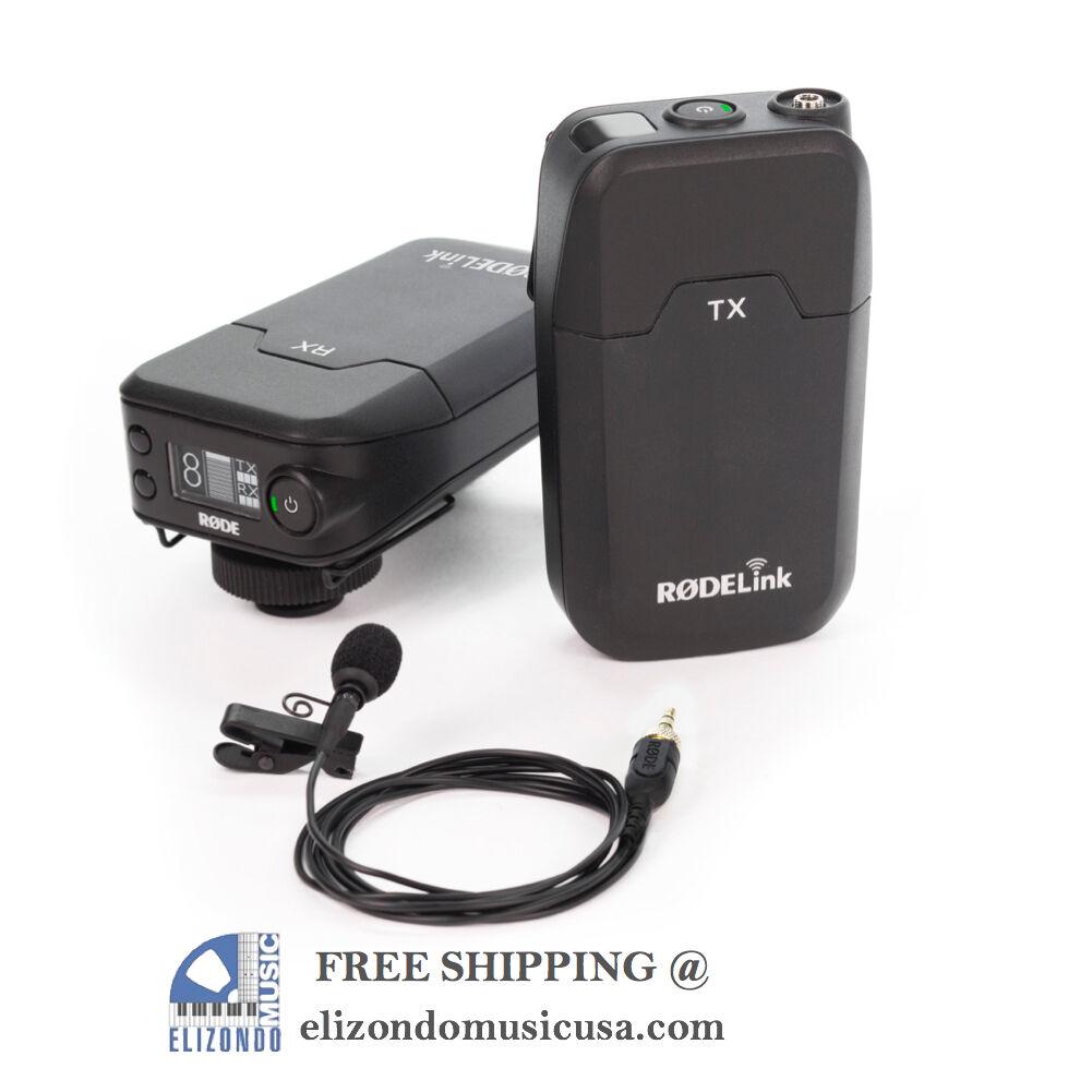 Rode RØDELink Filmmaker Kit Wireless Lavalier Microphone System & FREE T SHIRT