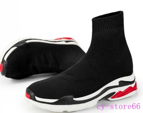 Details about  /Fashion Womens Mens  Running Sock Sneakers Sports Athletic shoes Platform Casual