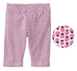 c84d6bda0fb8c Gap baby toddler Girl Pink fruit print cropped leggings pants shorts ...