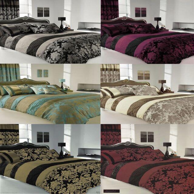APACHI Quilt Duvet Cover & Pillowcase Bed Set-  Matching PILLOWCASES , CURTAINS