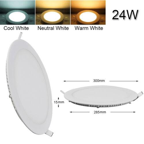 Epistar Recessed LED Panel Light 9W 12W 15W 18W 24W Ceiling Down Lights